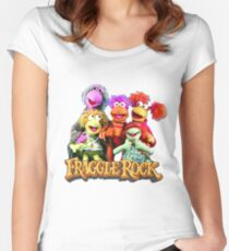 Fraggles! Women's Fitted Scoop T-Shirt