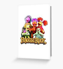 Fraggles! Greeting Card