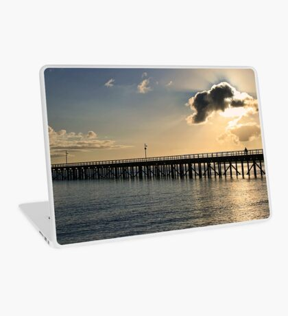 Early Morning at Urangan Pier Laptop Skin