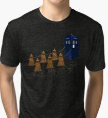 A Dalek Christmas Tri-blend T-Shirt