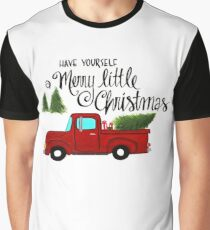 Merry Little Christmas Graphic T-Shirt
