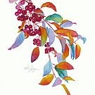 Purple Prince Crabapple by Pat Yager