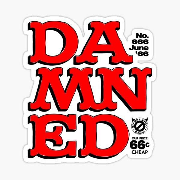 Damned Sticker