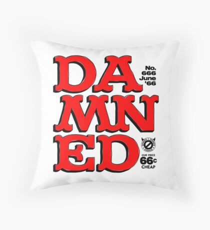 Damned Throw Pillow