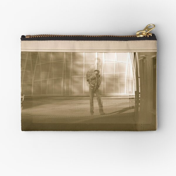 Morning self portrait - Afjord . Norway. by Brown Sugar. Zipper Pouch