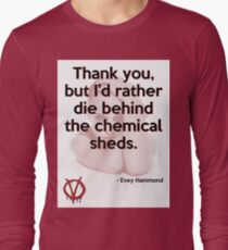 V for Vendetta Quote Long Sleeve T-Shirt