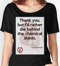 V for Vendetta Quote Women's Relaxed Fit T-Shirt