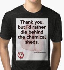V for Vendetta Quote Tri-blend T-Shirt
