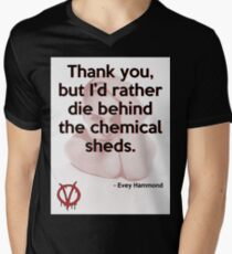V for Vendetta Quote T-Shirt