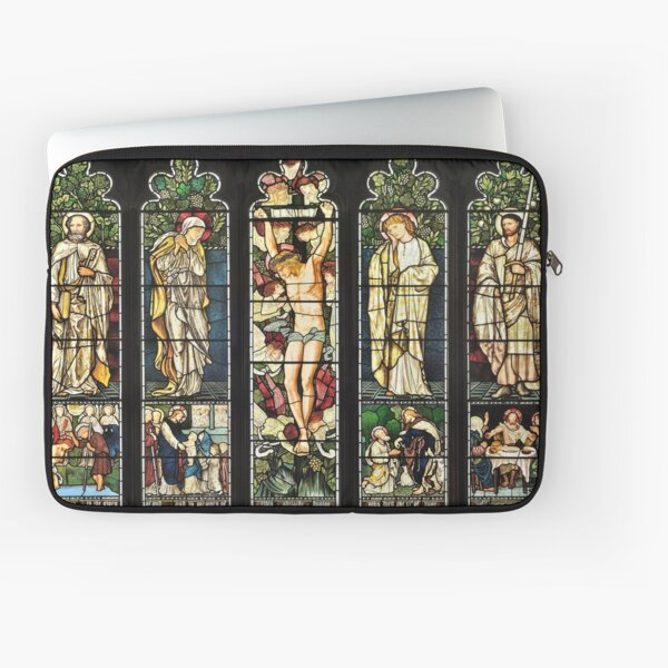 The East Window of Troutbeck Church, Cumbria Laptop Sleeve