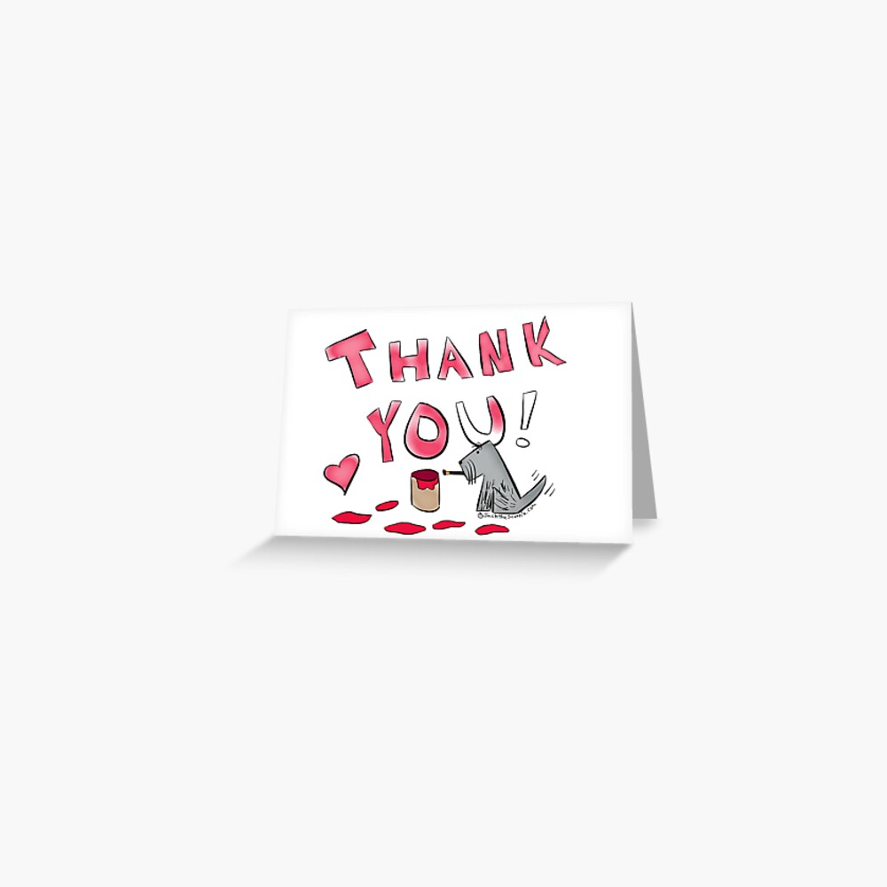 Jack - Thank You Card Greeting Card