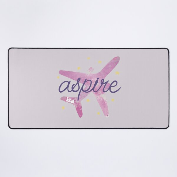 Aspire to fly Desk Mat