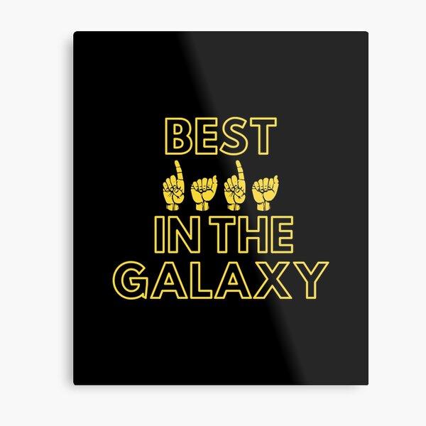 Best Dada In The Galaxy | Cute Family Gift Idea For Dada Metal Print