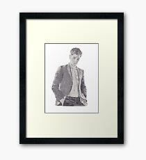 Shawn Luomo Vogue Sketch Framed Print