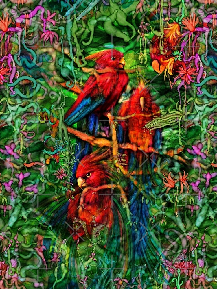 Qualia's Parrots Repeating by Kightleys