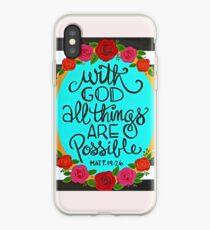 Alles ist möglich iPhone-Hülle & Cover