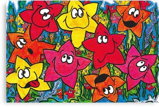 Starfishtified by Sammy Nuttall