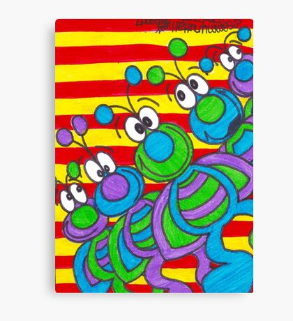 Gus Quintet Canvas Print