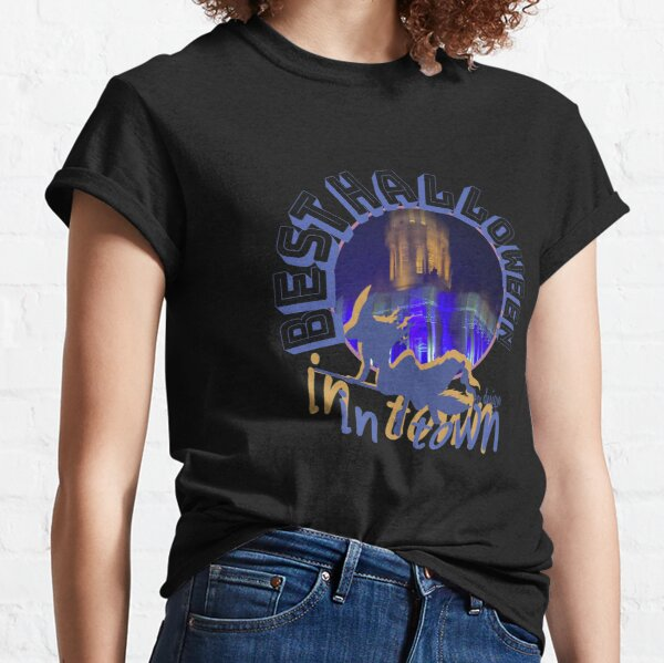 Best Halloween In Town Gift Sayings Classic T-Shirt