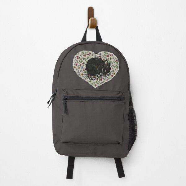 Sleepy Mouse Heart Backpack