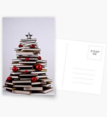 "XMAS BOOK TREE ~ OMG Sold  ""198 "" of these YAY !!! Postkarten"