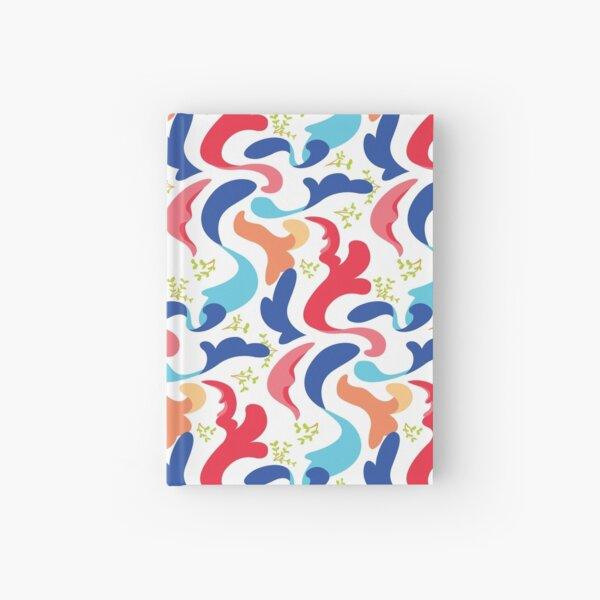 Twirl – blue Hardcover Journal