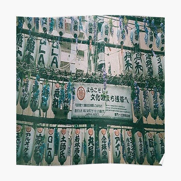 Lanternes au Japon Poster