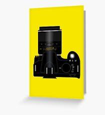 Nikon Camera Greeting Card