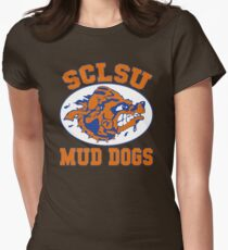 SCLSU Mud Dogs Womens Fitted T-Shirt