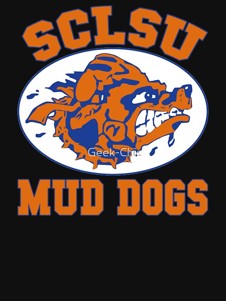 SCLSU Mud Dogs by Geek-Chic