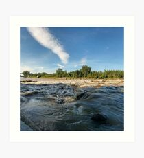 LG G5 Riverside Dam Art Print