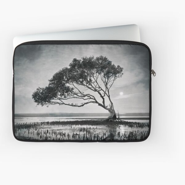 I Was Questioning and Looking Back Laptop Sleeve