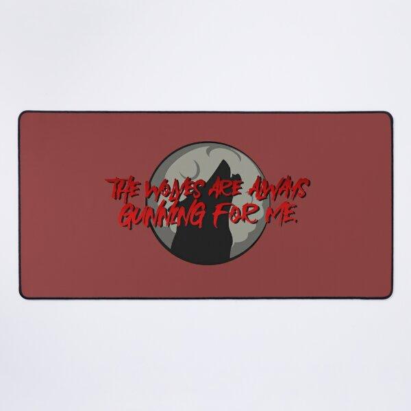 Wolves Are Always Gunning For Me - Emma Blackery Design Desk Mat