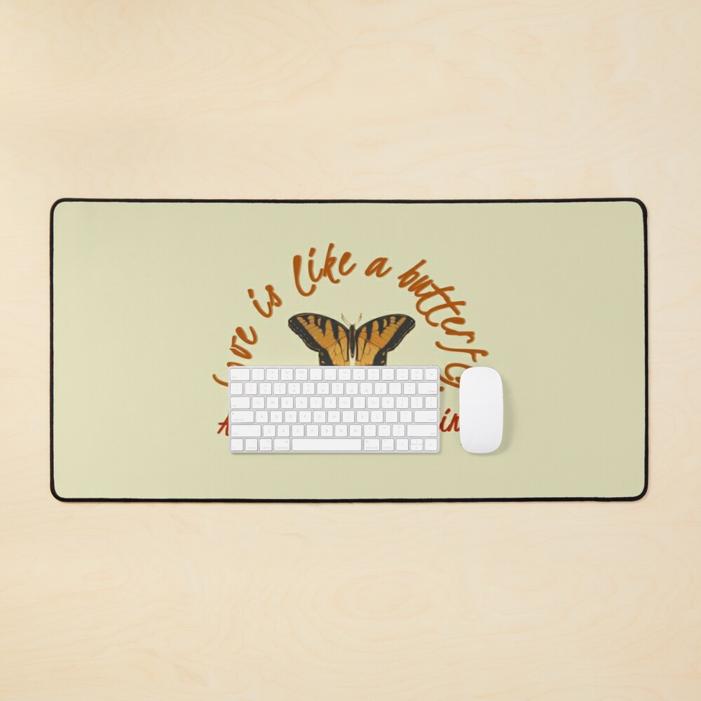 Love Is Like A Butterfly - Dolly Parton Design Mouse Pad