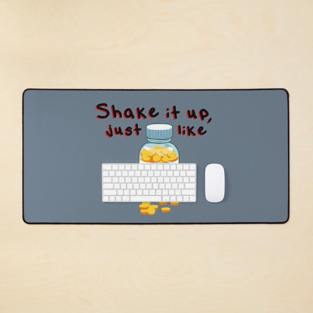 Shake It Up, Bad Medicine - Bon Jovi Design Mouse Pad