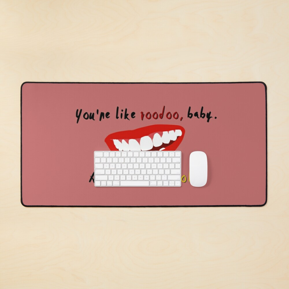 You're Like Voodoo, Baby - Rogue Traders Design Mouse Pad