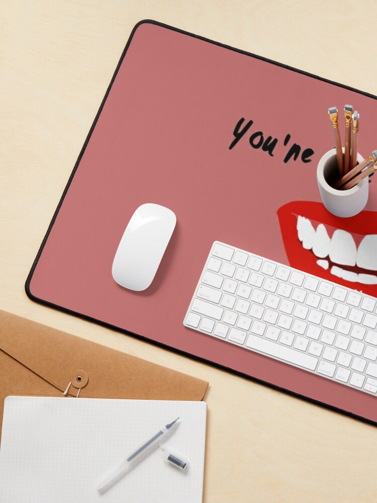 Alternate view of You're Like Voodoo, Baby - Rogue Traders Design Mouse Pad