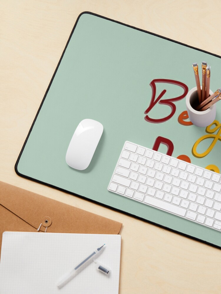 Alternate view of Be Gay, Do Crimes - Pride Design Mouse Pad
