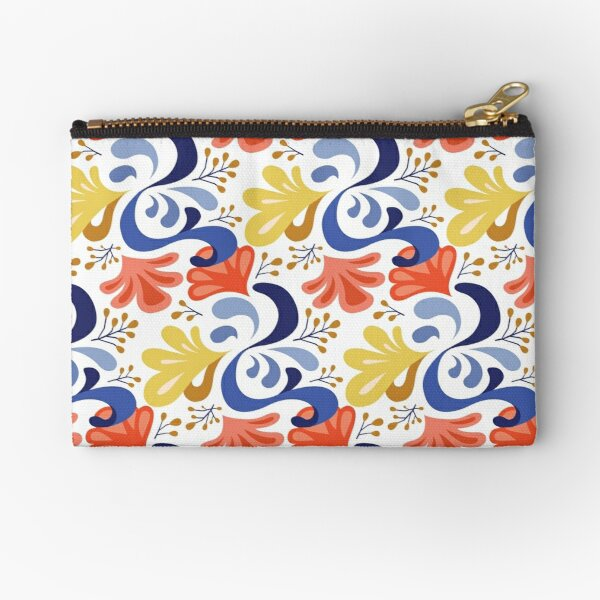 Posy – blue Zipper Pouch