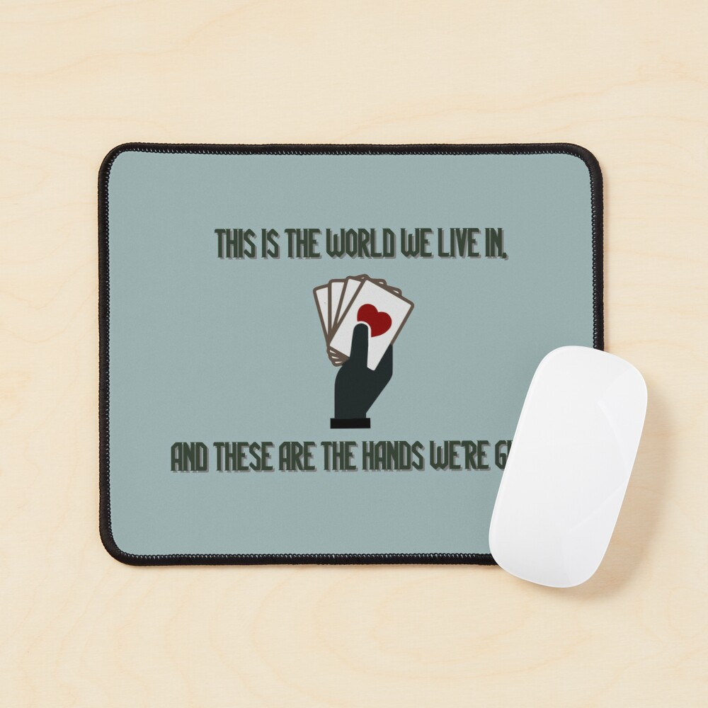 The World We Live In - Genesis/Disturbed Design Mouse Pad