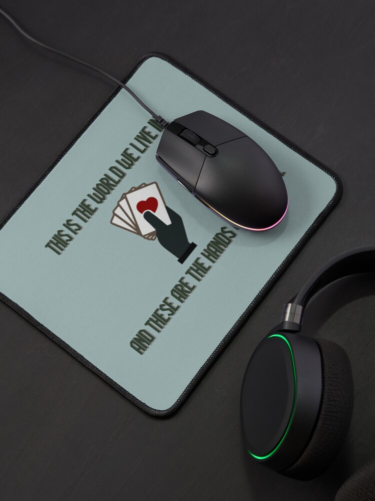 Alternate view of The World We Live In - Genesis/Disturbed Design Mouse Pad
