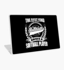 Die beste Art von Papa wirft einen Softball-Spieler Laptop Folie