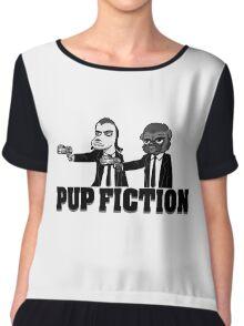 Pup Fiction Chiffon Top