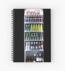 Soft Drinks Cabinet Spiral Notebook