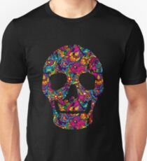 Day of the Dead - Psychedelic Skull 01 T-Shirt