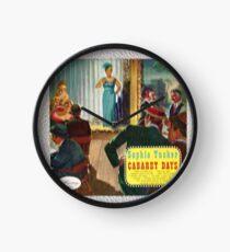 Sophie Tucker Cabaret Days Clock