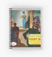 Sophie Tucker Cabaret Days Spiral Notebook