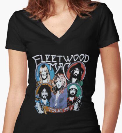 fmt78 Fitted V-Neck T-Shirt