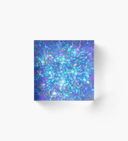 Winter #fractal art Acrylic Block
