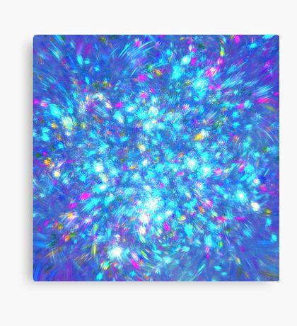 Winter #fractal art Canvas Print